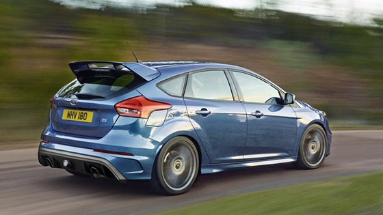 A more subtle body for the new Focus RS