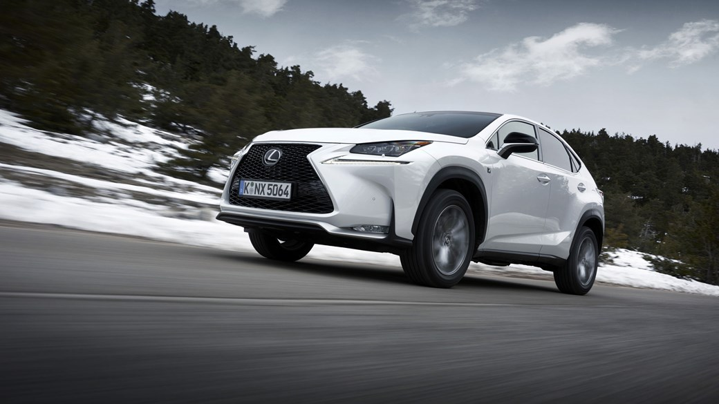 The Lexus Nx Certainly Stands Out