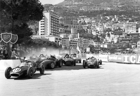 The 1958 Monaco grand prix: Ecclestone didn't qualify