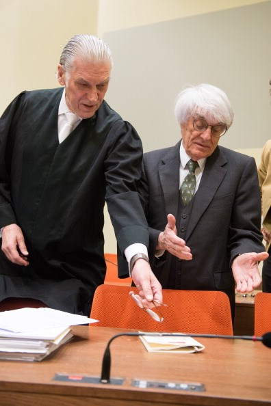 Bernie in court in Germany