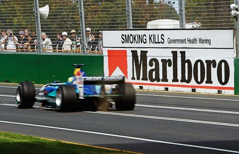 Smoking adverts and F1: a healthy relationship?