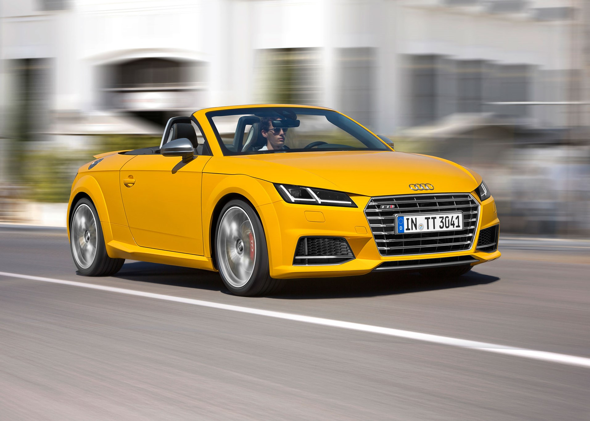 ... TTS Roadster gets wider wheels and different suspension The Audi ...