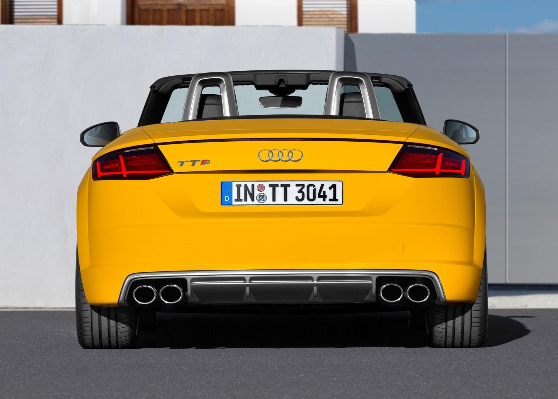 Audi Tts Roadster 2015 Review Car Magazine 2000 Tt 225 Quattro Main Fuse Box Diagram A Rear Spoiler Extends Above 75mph