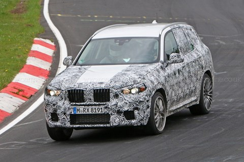 2017 BMW X3 M spy shots
