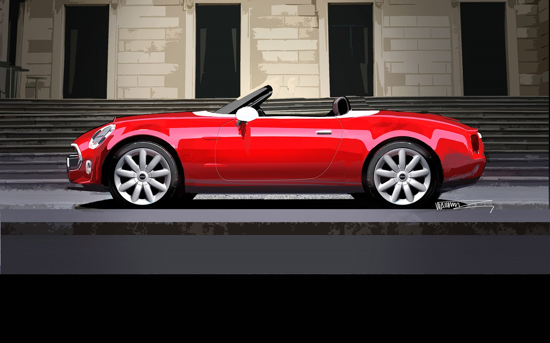 Mini Cooper Sportster >> Mini Superleggera is go! Expect slinky Mini roadster in ...