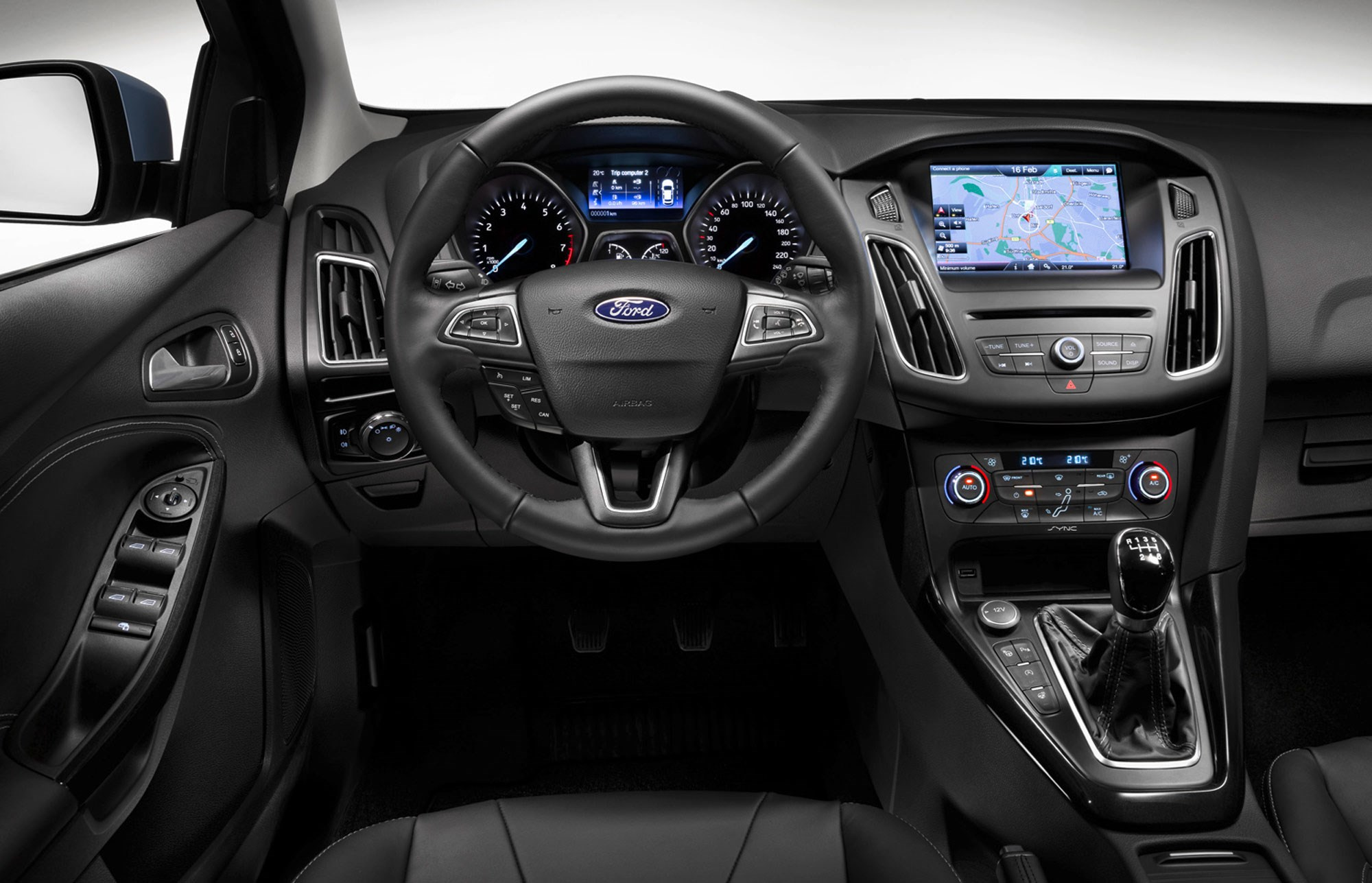Ford focus 1 5t ecoboost titanium x 2015 review by car for Interieur ford focus