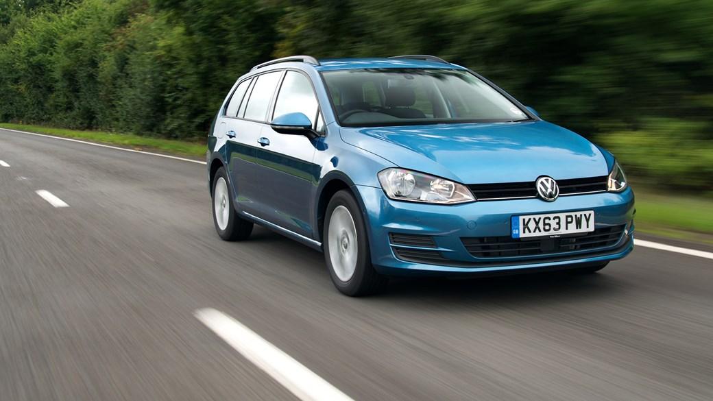Vw Golf Estate 1 6 Tdi 105 Se 2015 Review Car Magazine