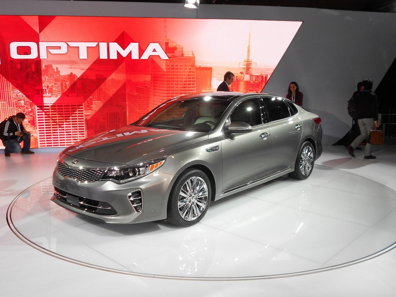 Kia Optima At The New York International Auto Show CAR Magazine - Kia car show