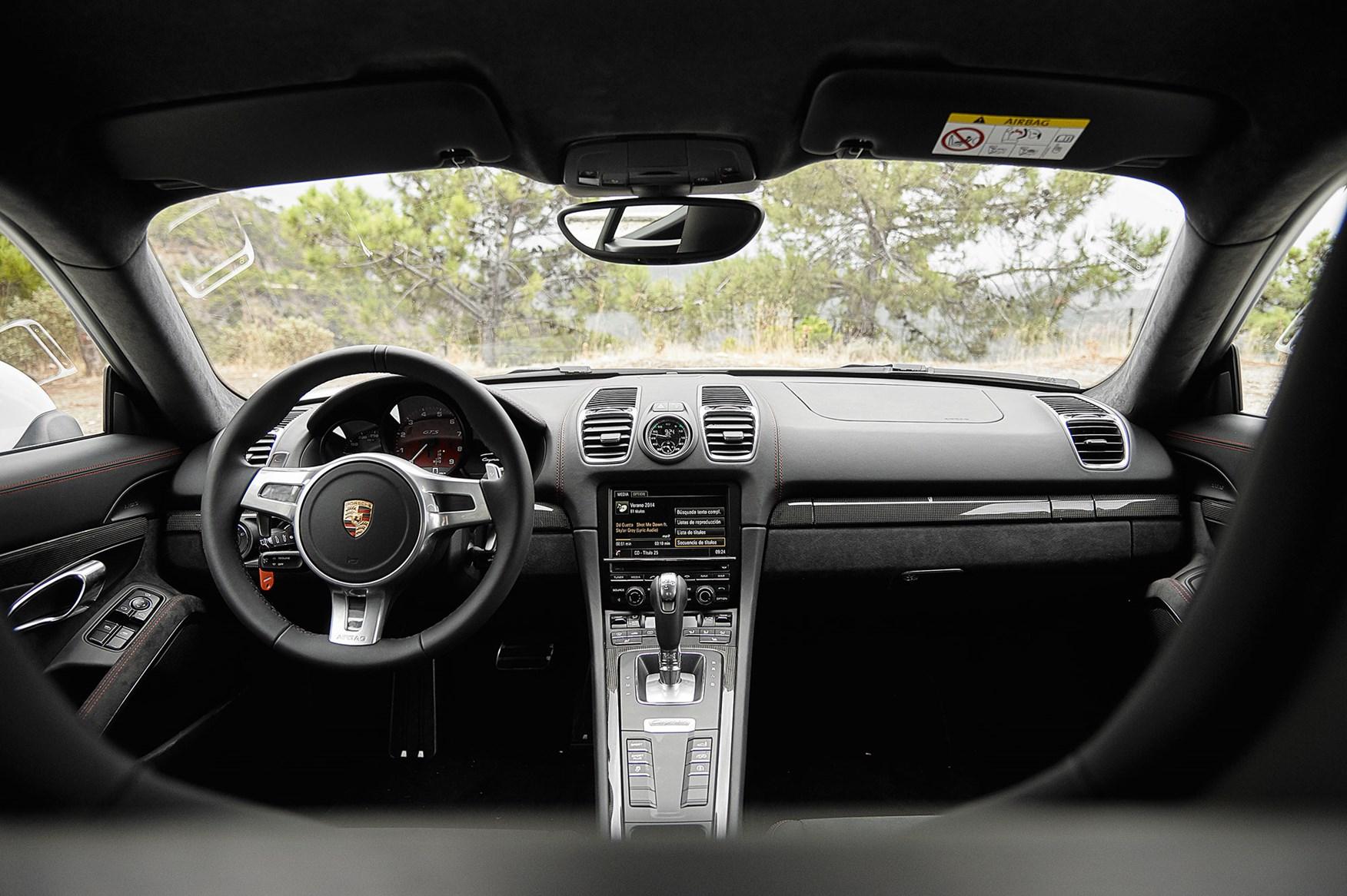 porsche cayman gts cabin sober sensible - 2015 Porsche Cayman Silver