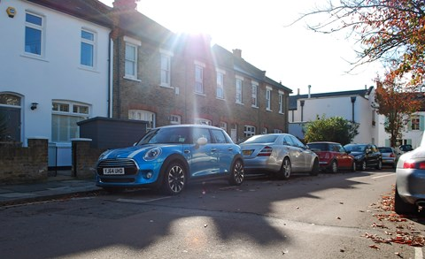 CAR magazine's new Mini five-door hatch will live a predominantly London life