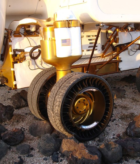 The real McCoy: the only lunar vehicle with any cred