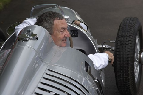 Nick Mason at Goodwood. Not on the dark side of the moon