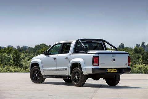 VW Amarok looking dark and broody