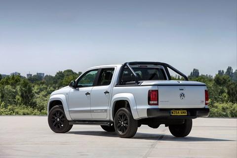 VW Amarok looking dark and broody