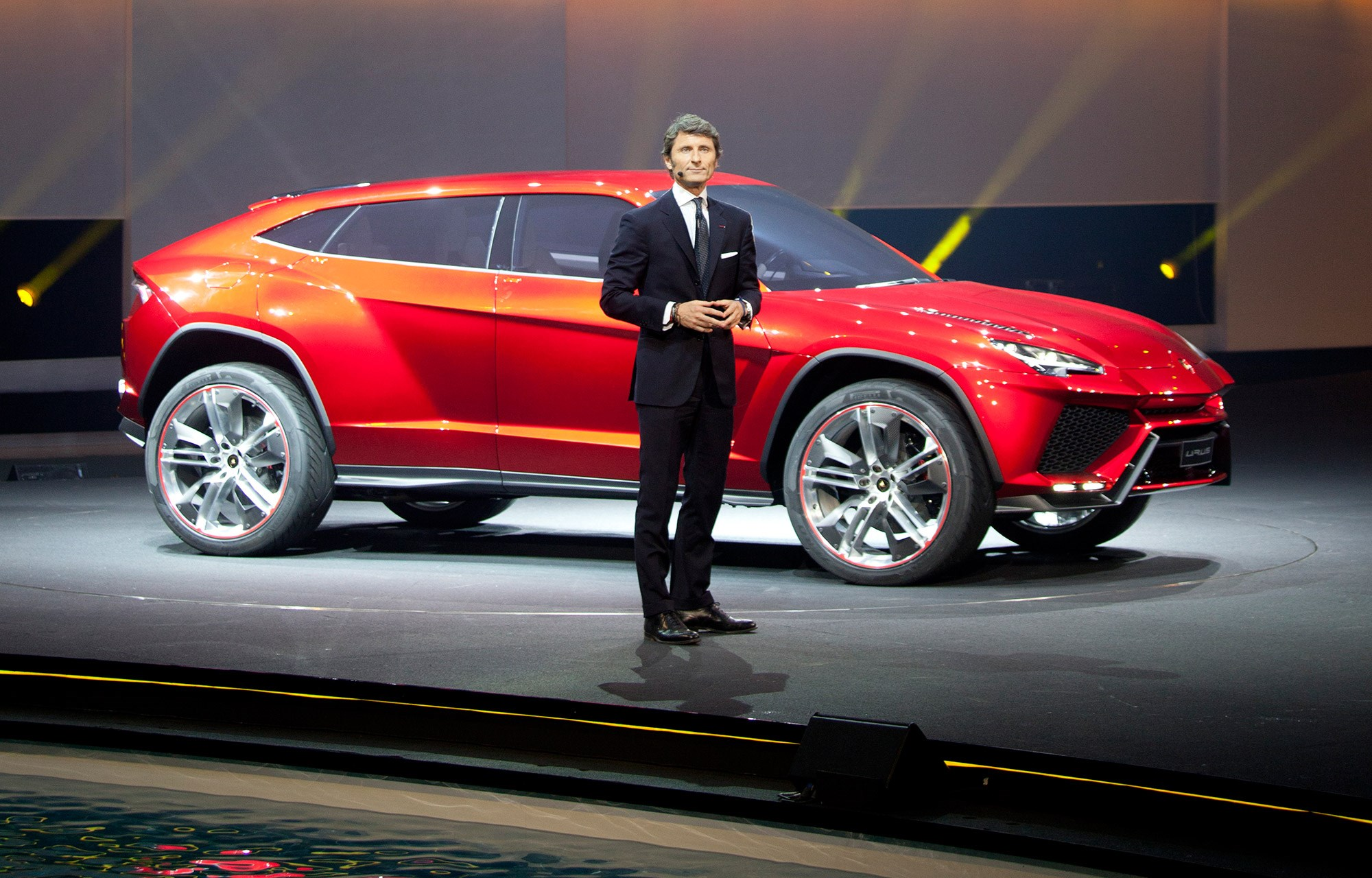 Lambo Chief Exec Stephan Winkelmann And The Urus SUV