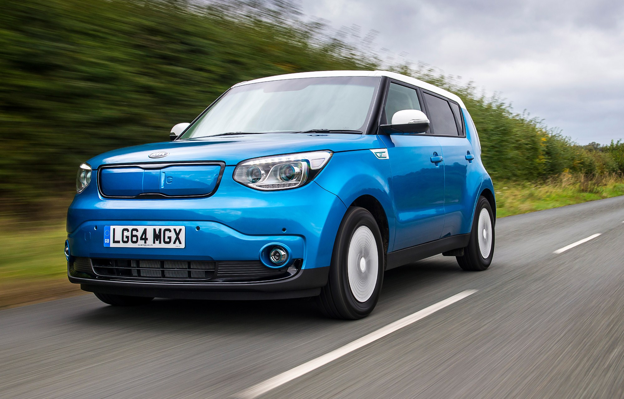 kia soul ev 2015 review by car magazine. Black Bedroom Furniture Sets. Home Design Ideas