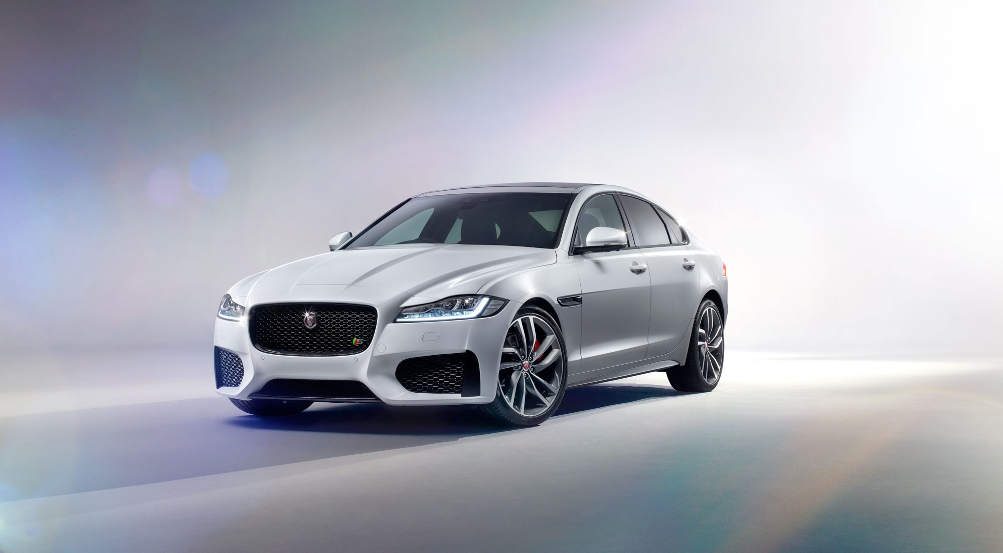 Captivating This Is An S Badged Model, Hence The Bodykit The New 2015 Jaguar XF ...