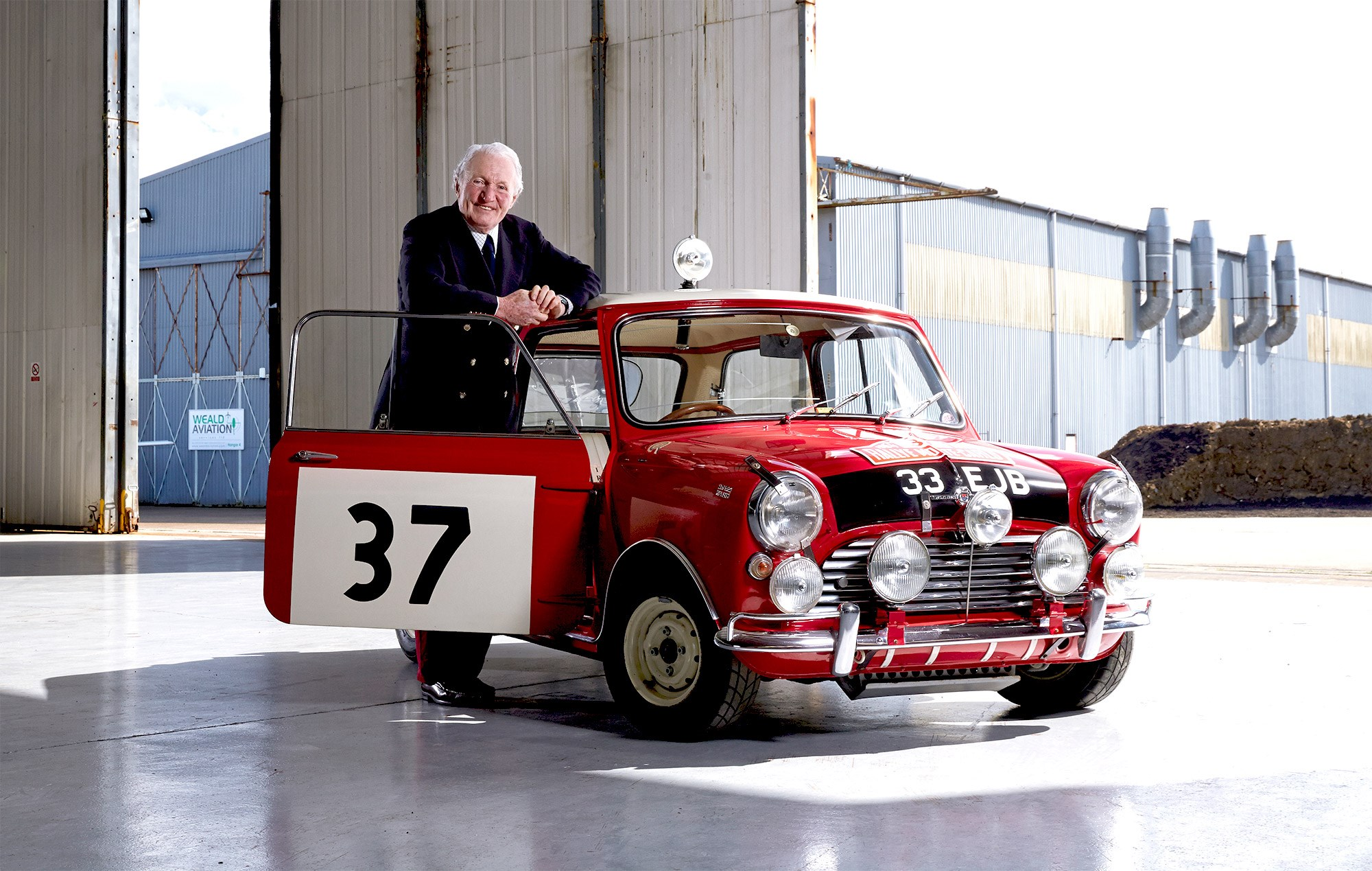 Paddy Hopkirk on his rallying career and that Monte Carlo win by ...