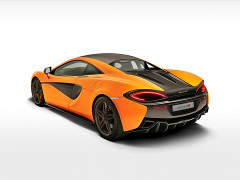 Shades of P1 at rear of McLaren 570S