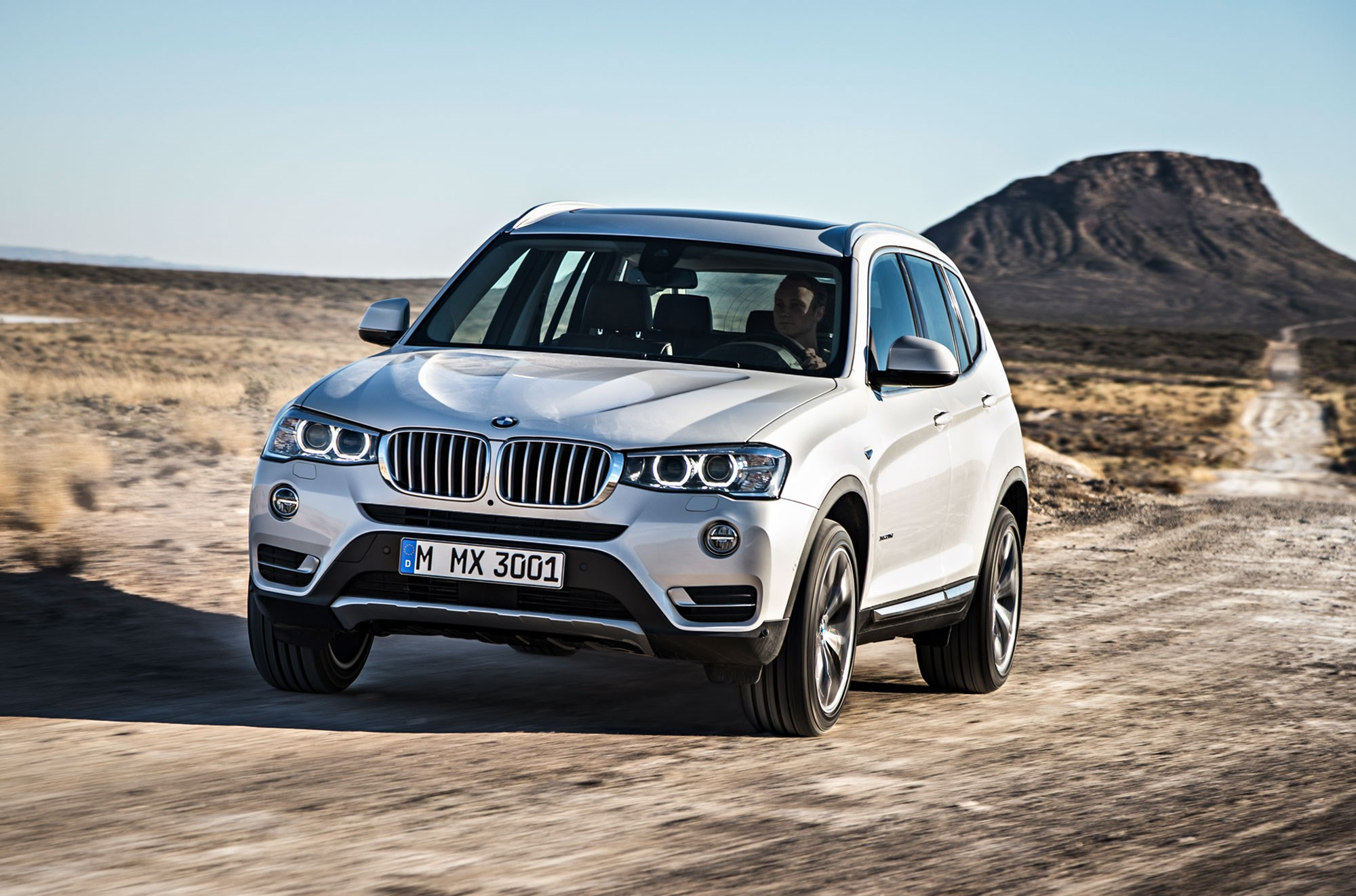 The bmw x3 was given a light facelift in the second half of 2014