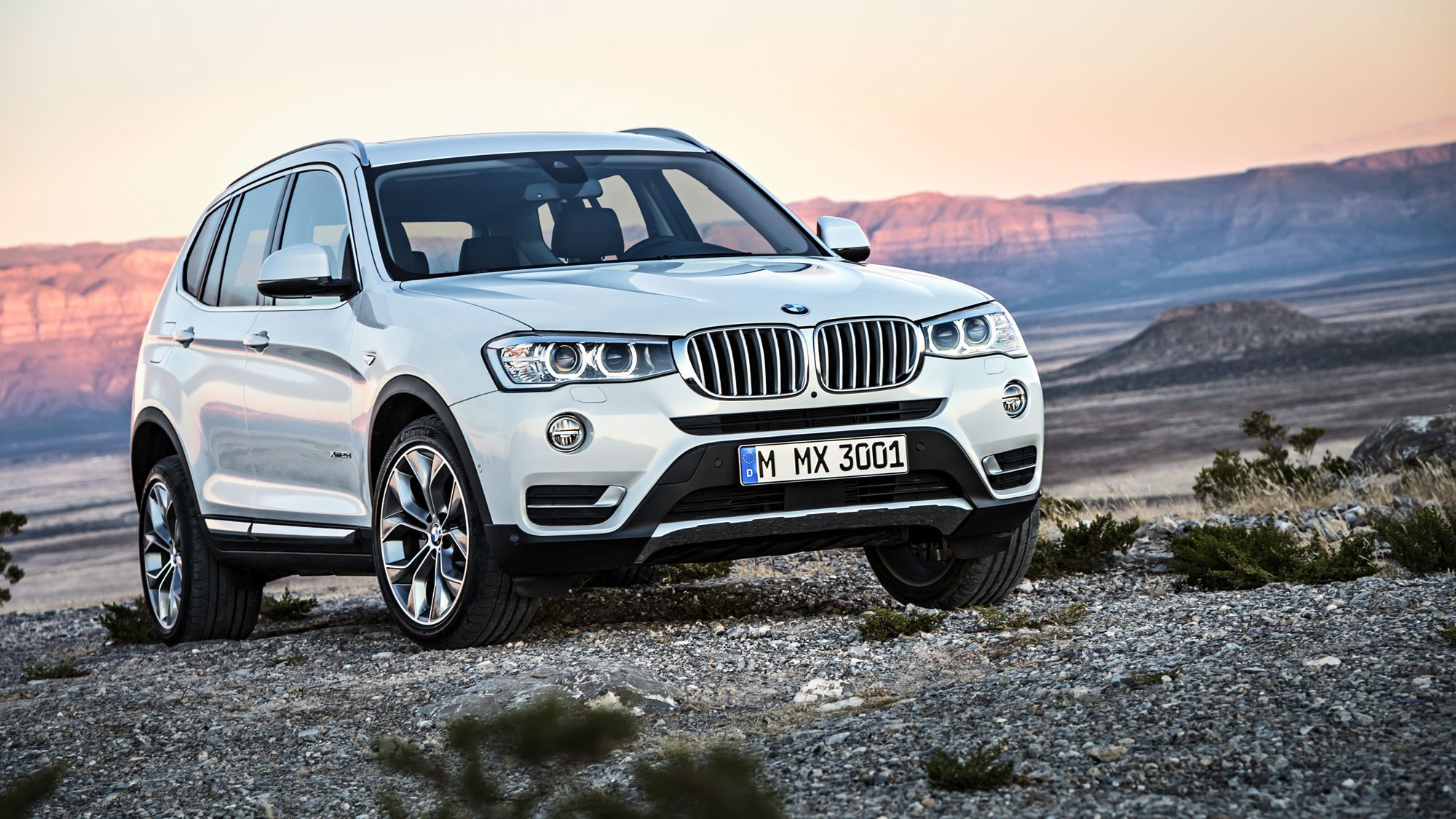 the current bmw x3 engine range is diesel only