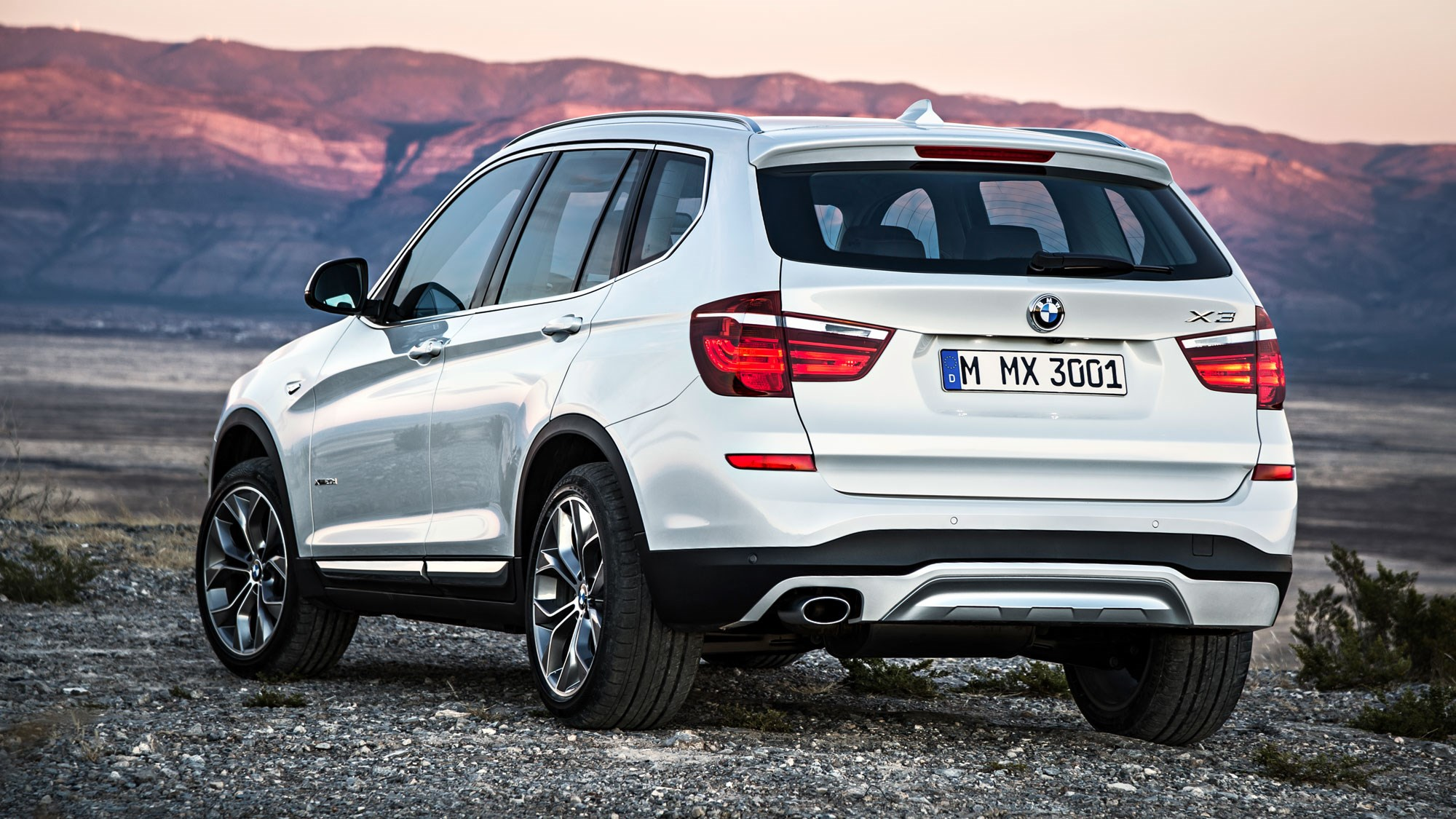 Bmw X3 Xdrive 20d M Sport  2015  Review