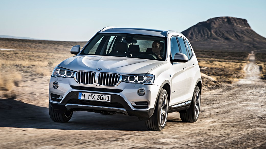 The BMW X3 Was Given A Light Facelift In Second Half Of 2014