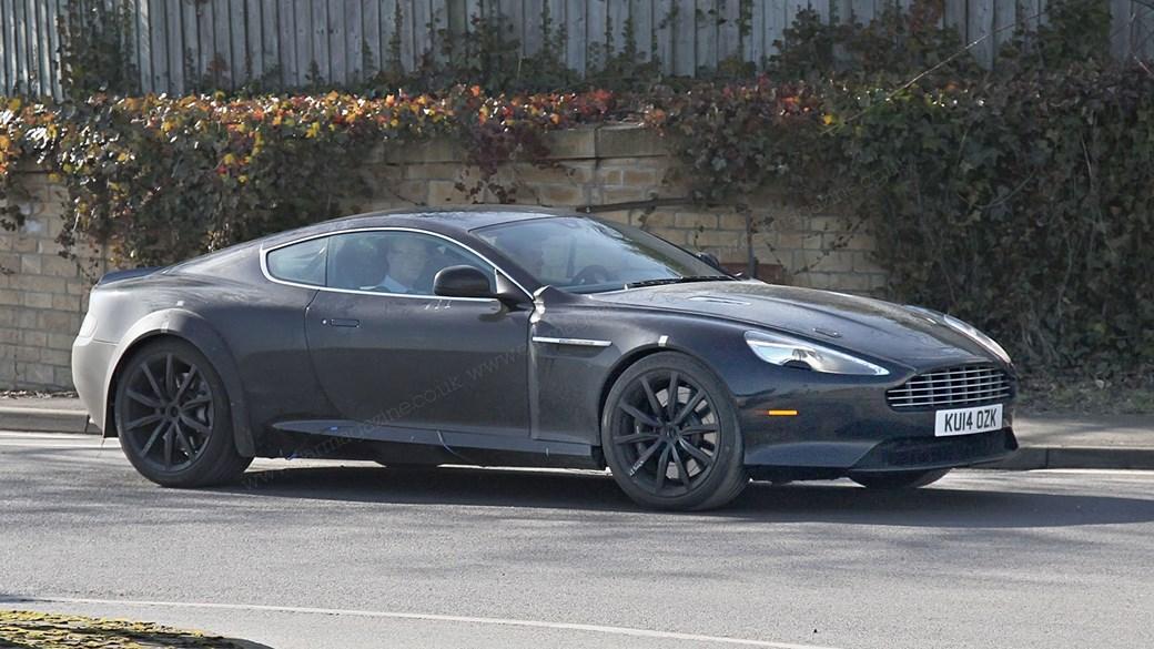 2016 - [Aston Martin] DB11 Astondb9mule01