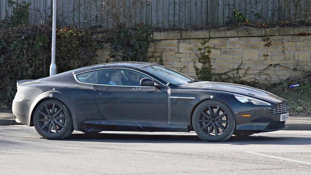 2016 - [Aston Martin] DB11 Astondb9mule04