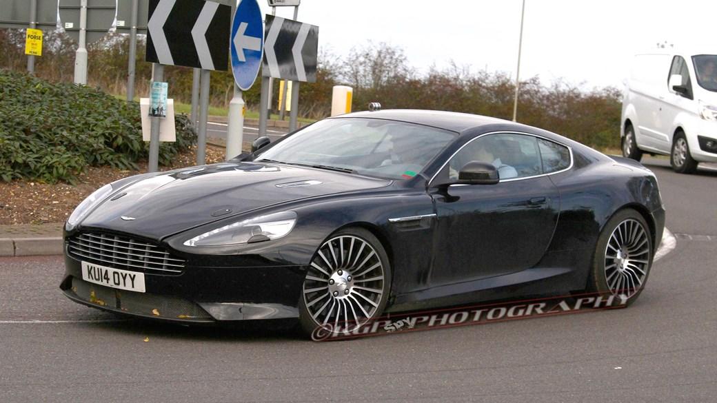 2016 - [Aston Martin] DB11 Astondb9mule06