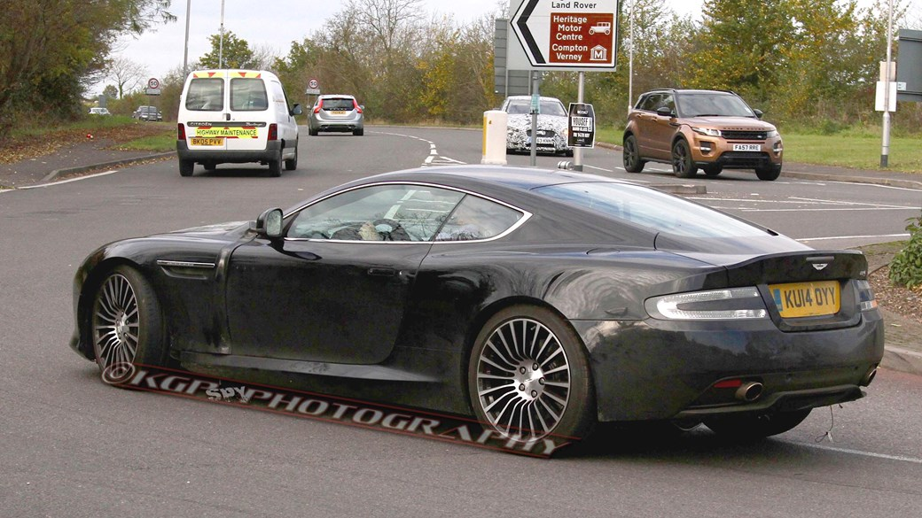 2016 - [Aston Martin] DB11 Astondb9mule07