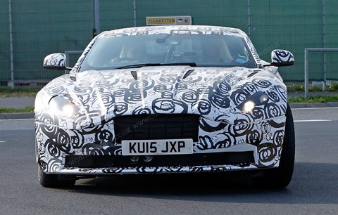 Sadly, don't expect this paint job to be an option on new DB11