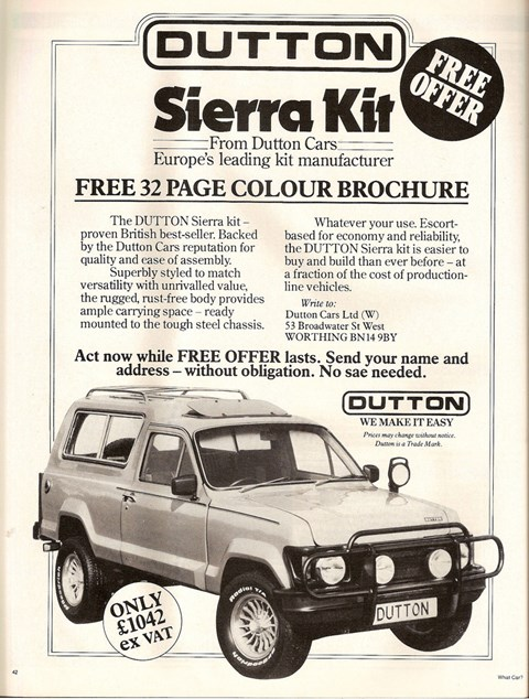 The Dutton Sierra. Ahead of its time - in more ways than one