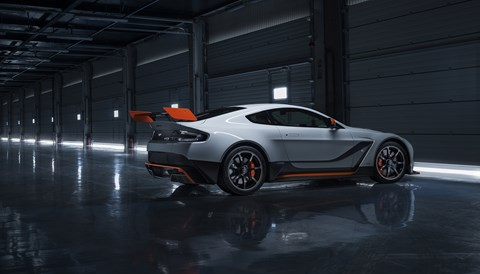 The Aston Martin Vantage GT3. Or is it the GT12?