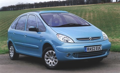 Citroen Xsara Picasso caused a storm in a paint pot
