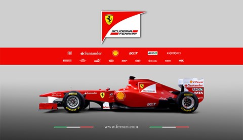The Ferrari F150 became the F150th Italia