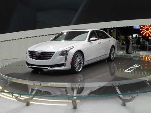 Cadillac CT6 in New York