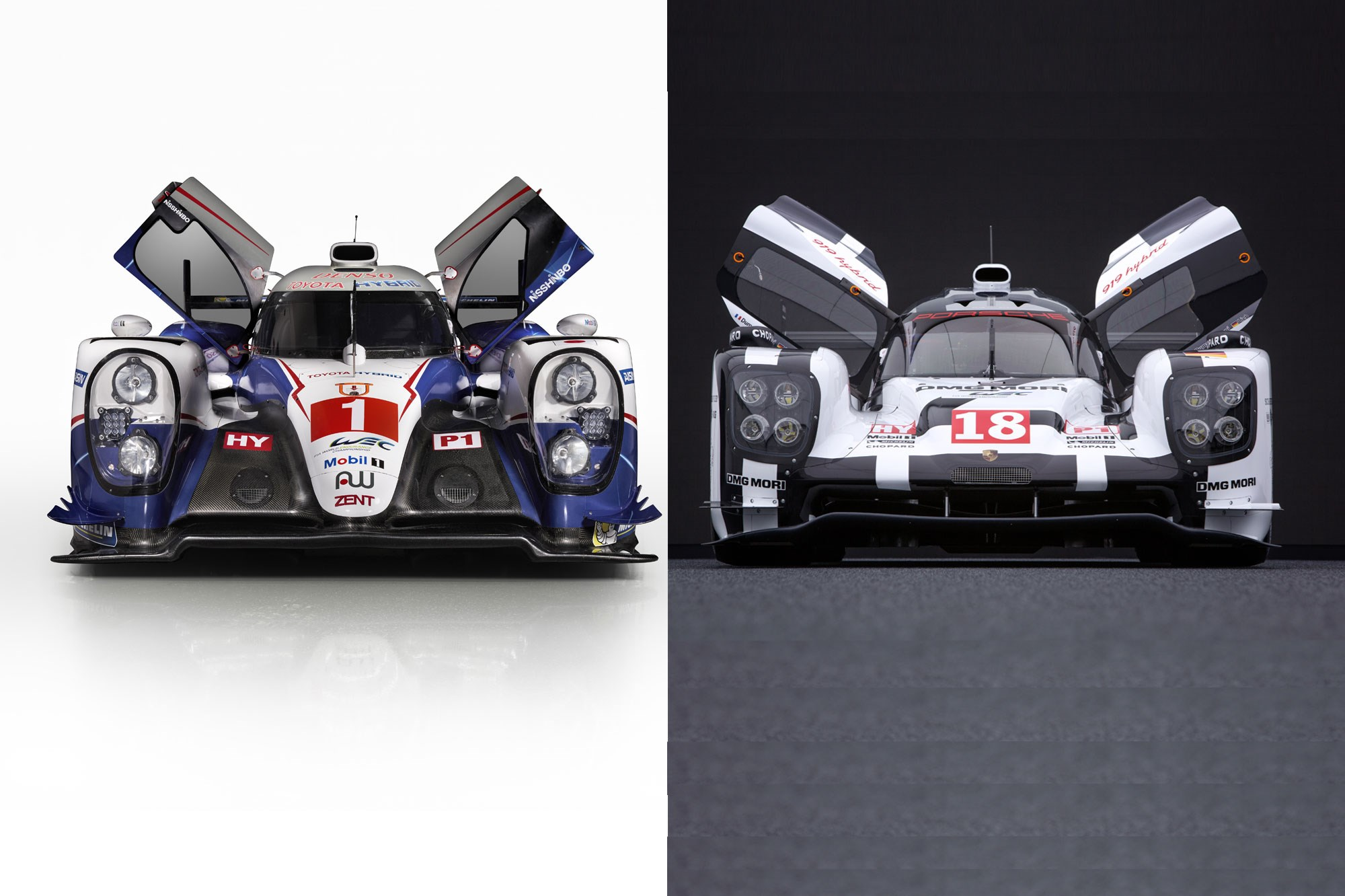 Contenders ready: Porsche and Toyota\'s 2015 Le Mans racers revealed ...