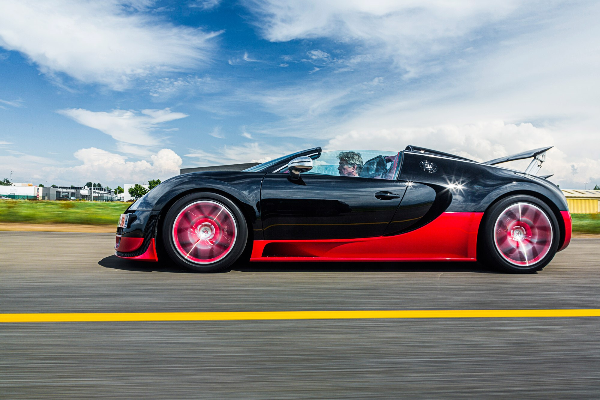 popping my bugatti veyron cherry: this is what it feels like to
