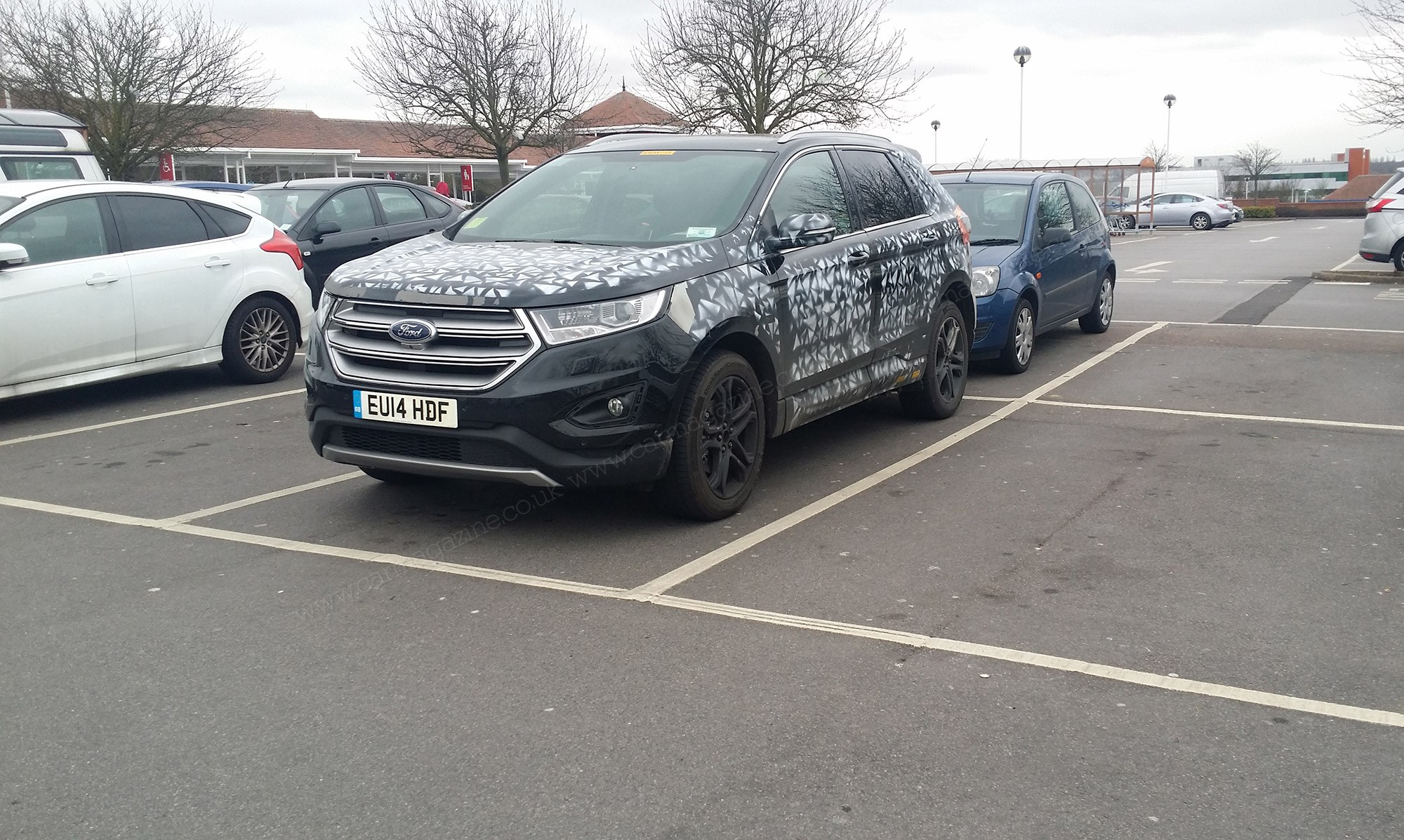 new car 2016 ukNew 2016 Ford Edge pops down the shops papped by CAR reader by