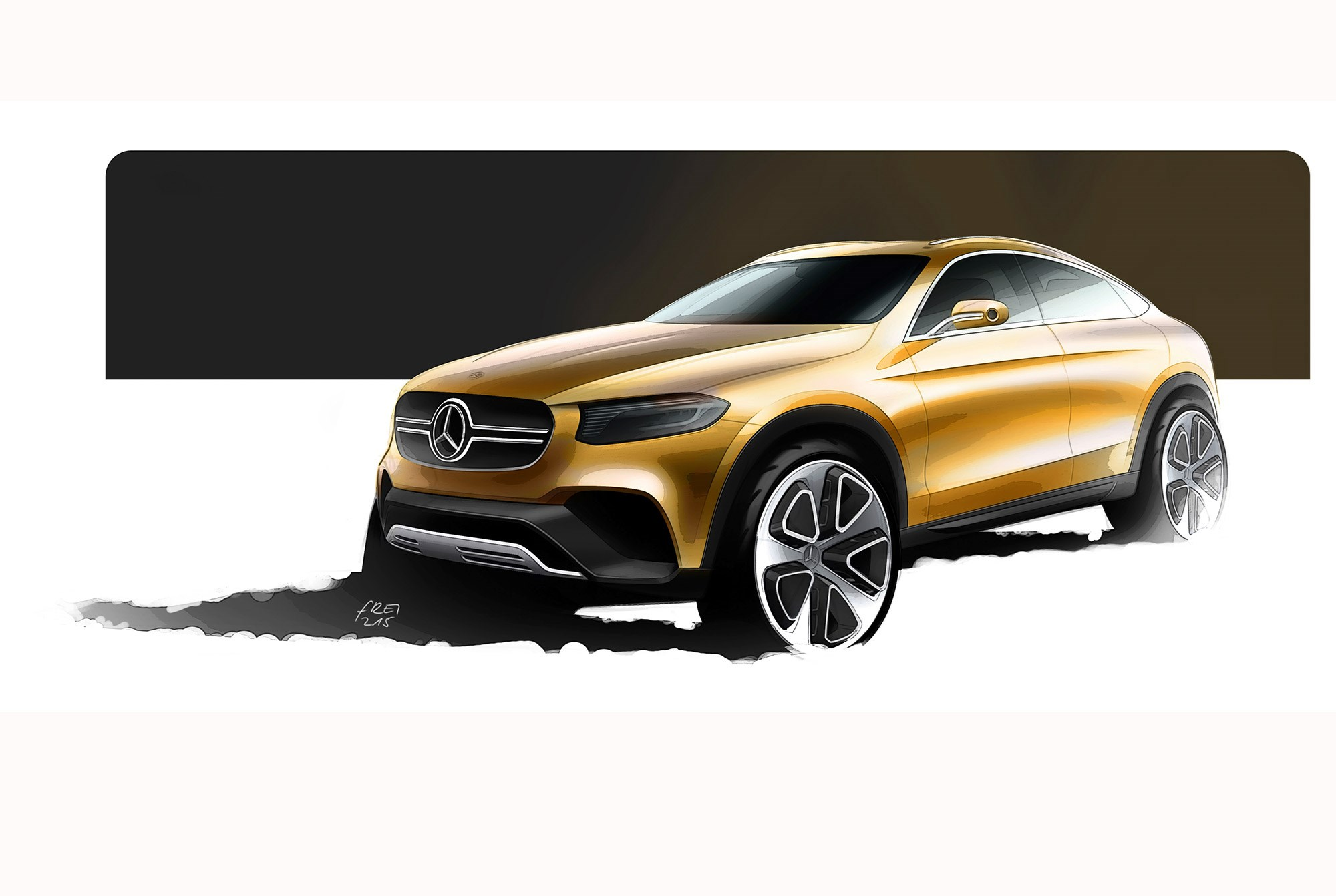 Mercedes Concept Glc Coupe Its Our First Look At The New Glk Car Jeep Patriot Engine Diagram Design Sketch Of