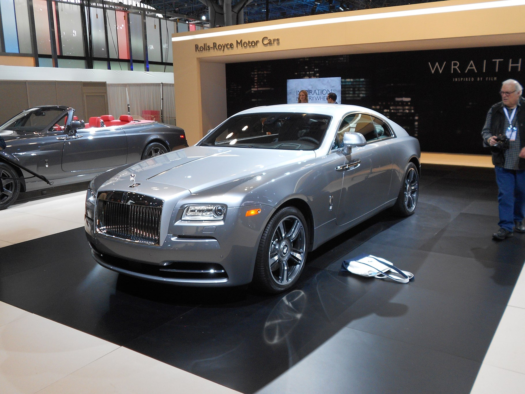 The Rolls Wraith At New York Auto Show 2017