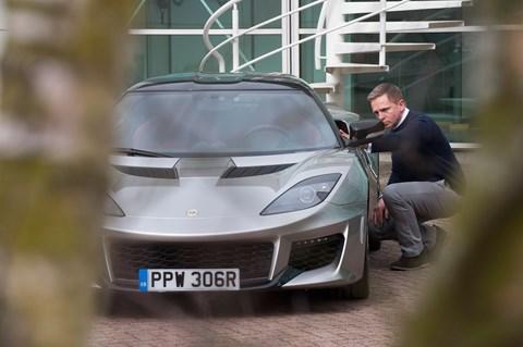 Lotus Evora Daniel Craig