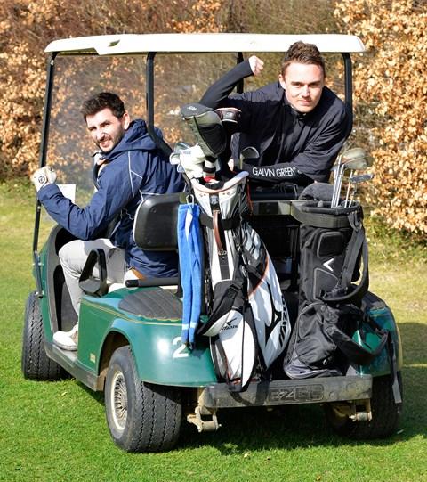 Golf rage