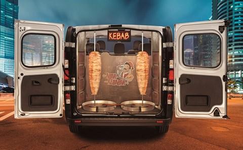 Vauxhall Vivaro Taxi Kebabi
