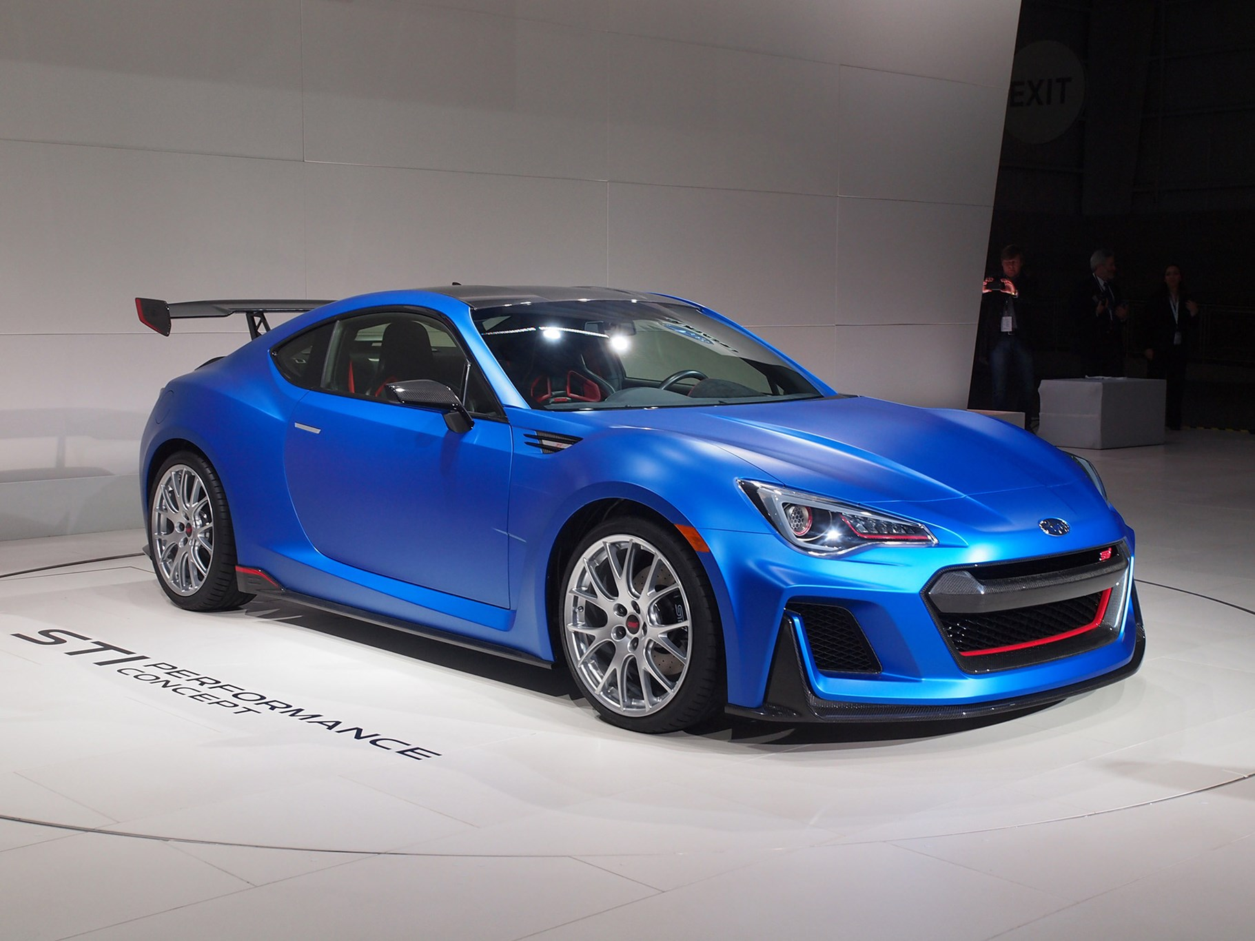 Subaru Brz By Sti 300bhp Coupe Muscles Into New York