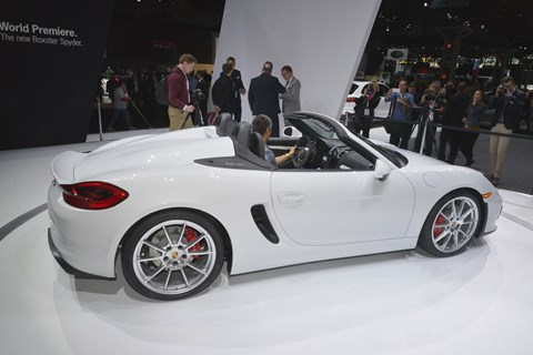The ying to the Cayenn's yang: new Porsche Boxster Spyder is here