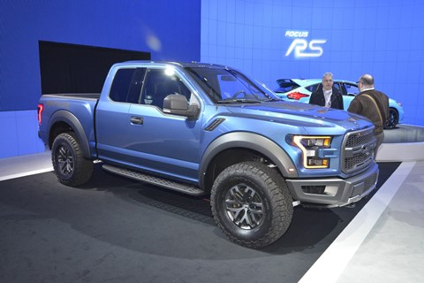 The Ford F150 Raptor. Still truckin' along