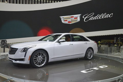 Cadillac CT6. America still loves big saloons, too