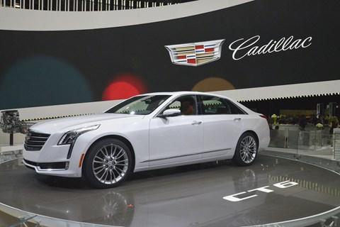 Cadillac CT6. America still loves big saloons, too